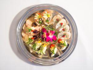 Przykładowe propozycje półmisków z daniami - Restauracja Estella